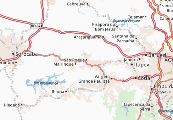 Mapas-Planos São Roque