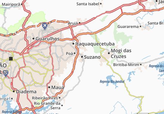 Mappe-Piantine Suzano