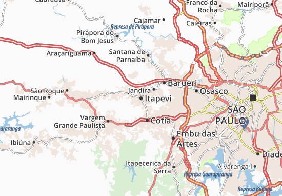 Itapevi Map