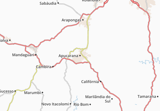 Mappe-Piantine Apucarana