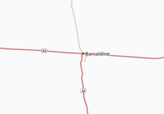 Barcaldine Map
