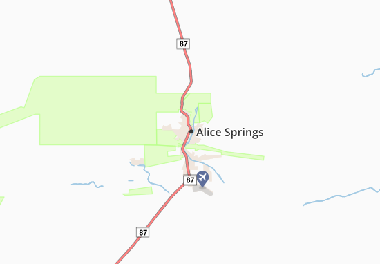 Mappe-Piantine Alice Springs