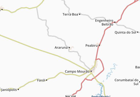 Carte-Plan Araruna