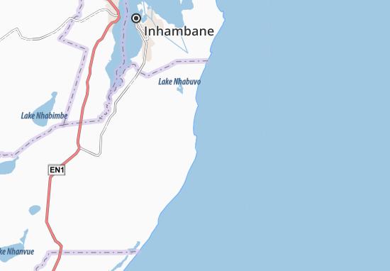 Praia De Jangamo Map Detailed Maps For The City Of Praia De - Praia map