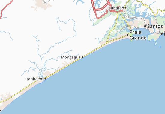 Mapas-Planos Mongaguá