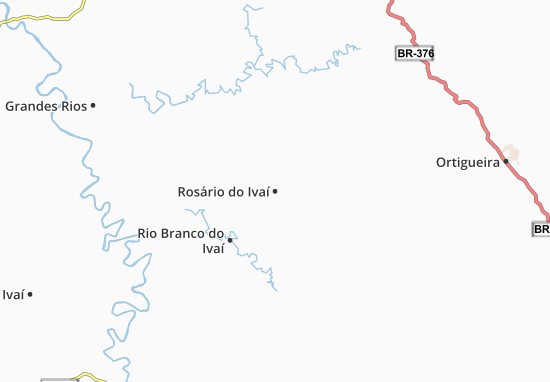 Mappe-Piantine Rosário do Ivaí