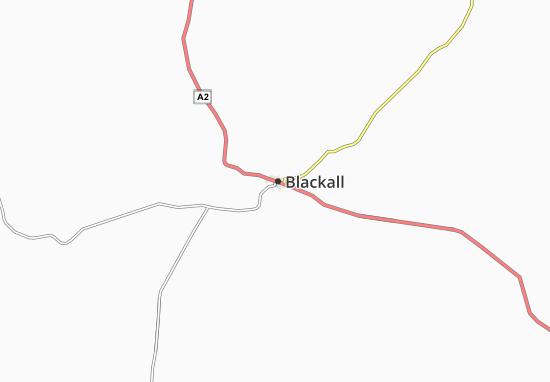 Kaart Plattegrond Blackall