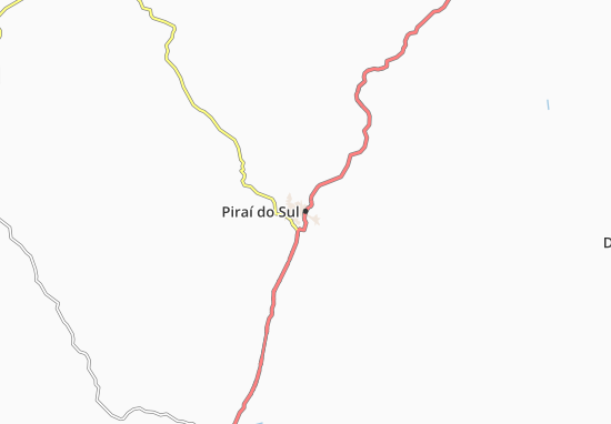 Mappe-Piantine Piraí do Sul