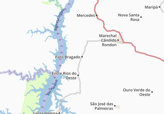 Carte-Plan Pato Bragado