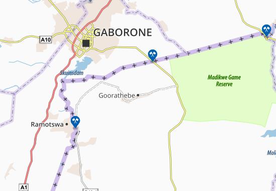 Carte-Plan Goorathebe