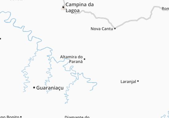 Carte-Plan Altamira do Paraná