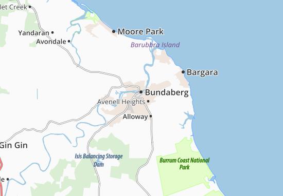 Bundaberg Map