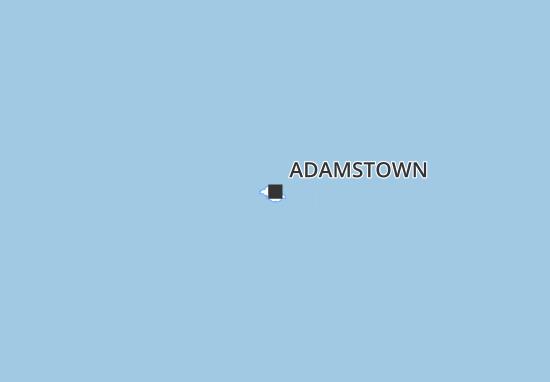 Carte-Plan Adamstown