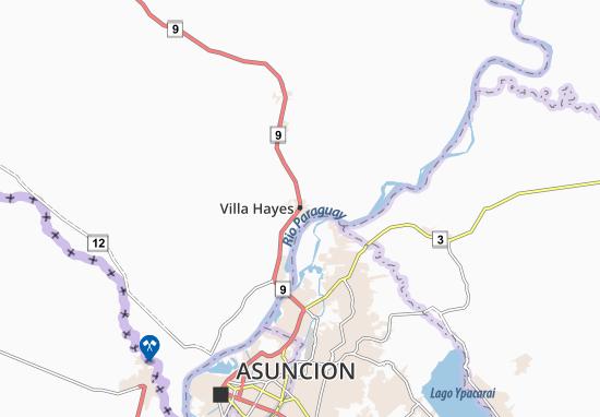 Villa Hayes Map