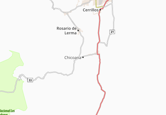 Mapas-Planos Chicoana