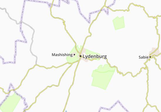 Mapa Plano Lydenburg