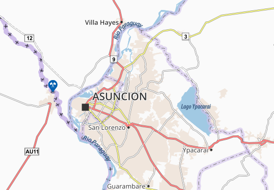 Luque Map