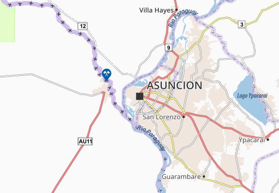 Asuncion Map