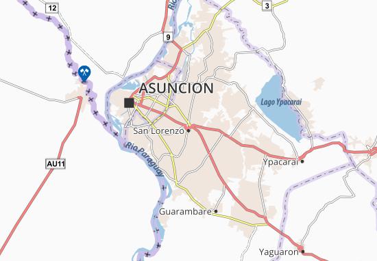 San Lorenzo Map