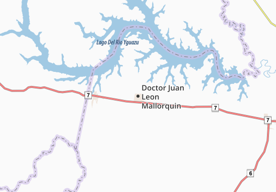 Doctor Juan Leon Mallorquin Map
