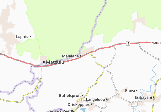 Carte-Plan Malalane