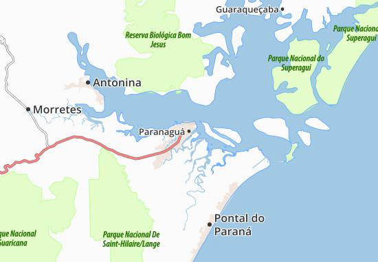 Paranaguá Map