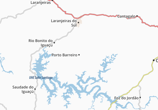 Porto Barreiro Map
