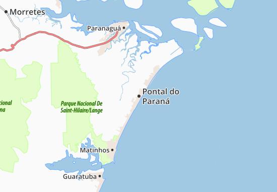 Carte-Plan Pontal do Paraná