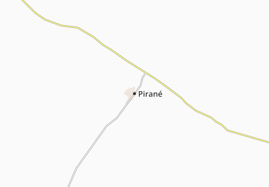 Carte-Plan Pirané