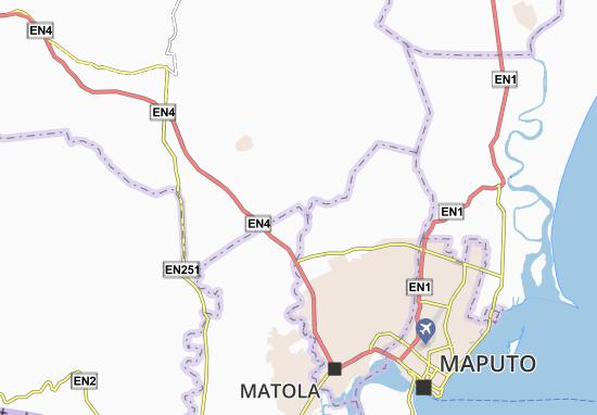 Kaart Plattegrond Mendes