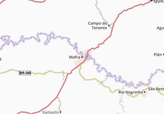 Mafra Map