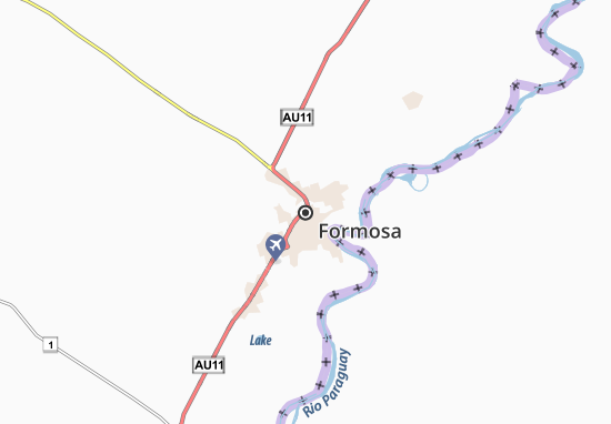 Formosa Map