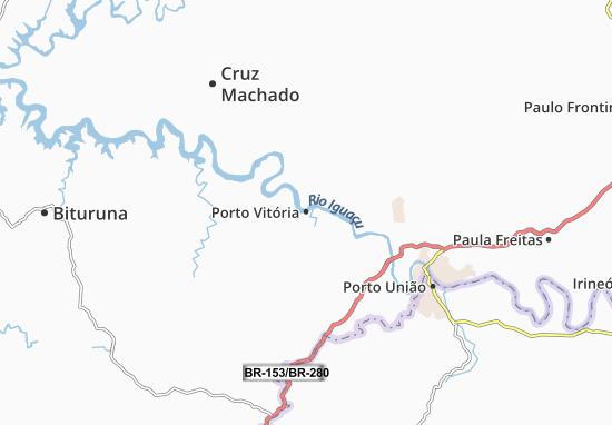 Carte-Plan Porto Vitória
