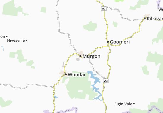 Murgon Map