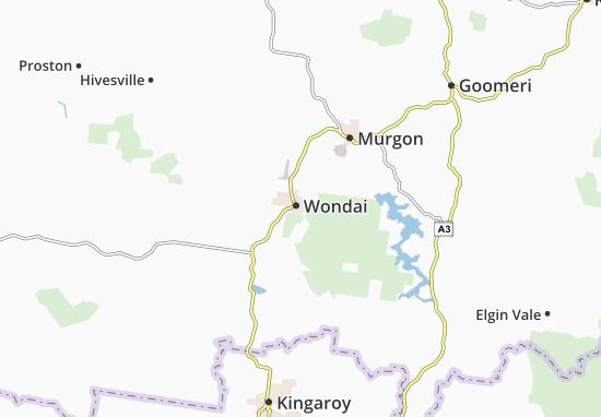 Wondai Map