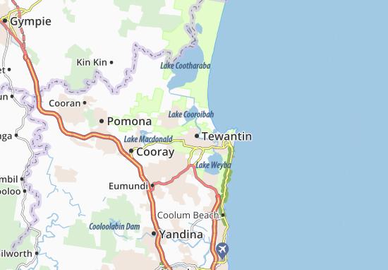Tewantin Map