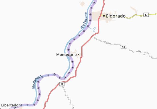 Montecarlo Map