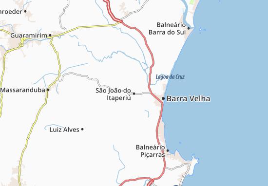 Carte-Plan São João do Itaperiú