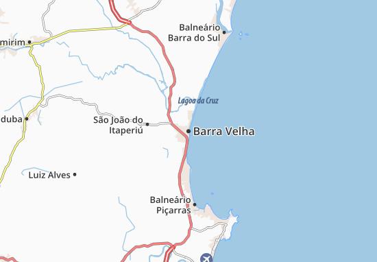 Barra Velha Map