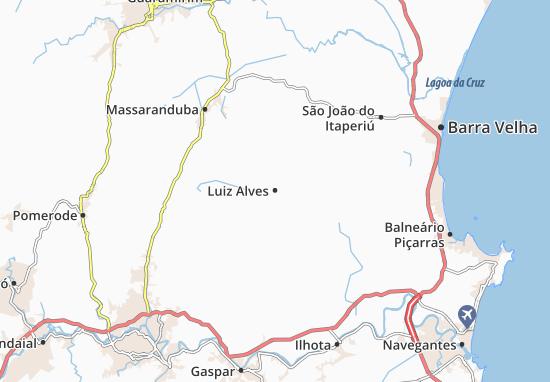Luiz Alves Map