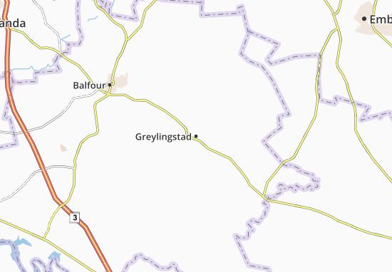 Carte-Plan Greylingstad