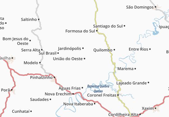 Mappe-Piantine União do Oeste