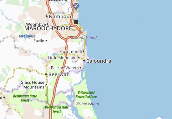 Caloundra Map