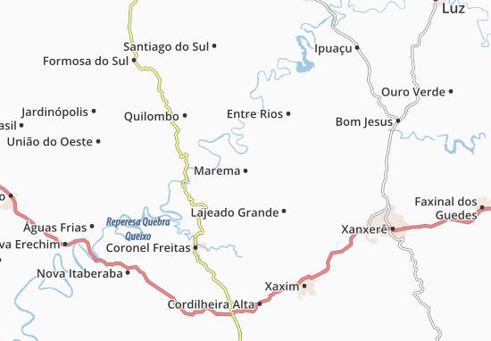 Mappe-Piantine Marema