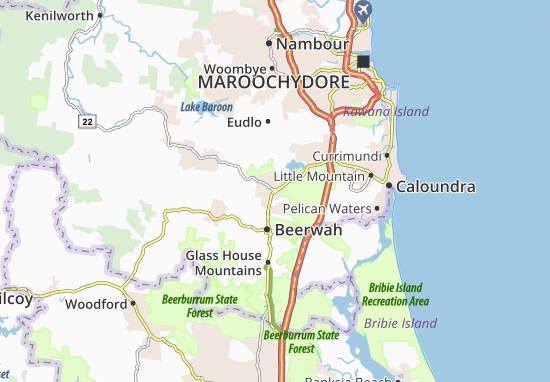 Landsborough Map