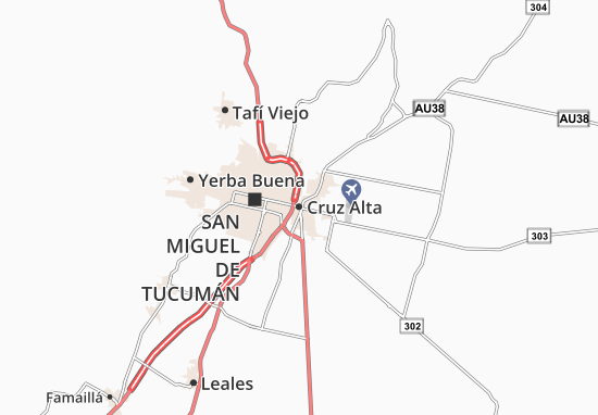 Mapa Plano Cruz Alta