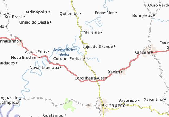 Mappe-Piantine Coronel Freitas
