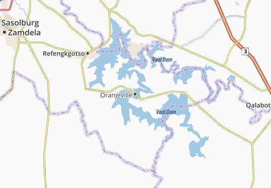 Carte-Plan Oranjeville