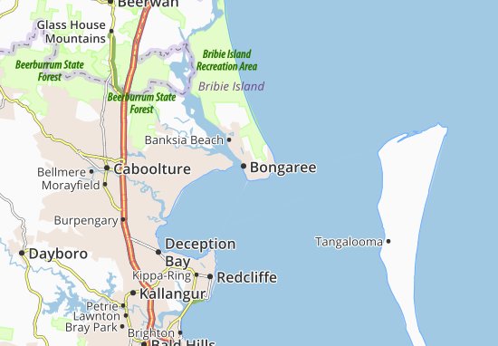 Bongaree Map