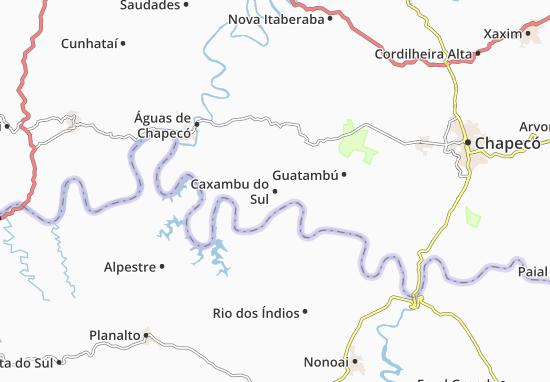 Mappe-Piantine Caxambu do Sul